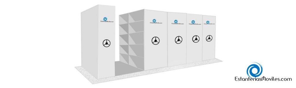 estanterias moviles